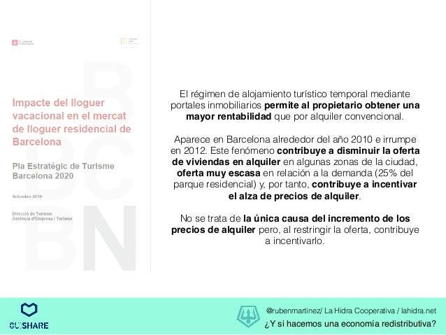 Y si hacemos una econom a redistributiva for Portales inmobiliarios barcelona