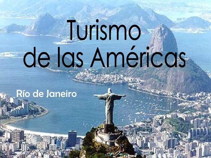 Turismo  de las Américas Río de Janeiro