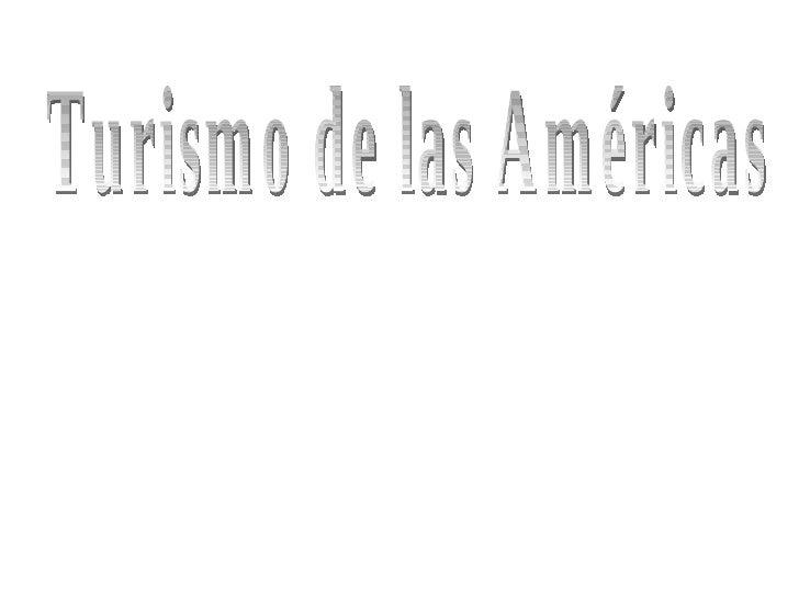 Turismo de las Américas