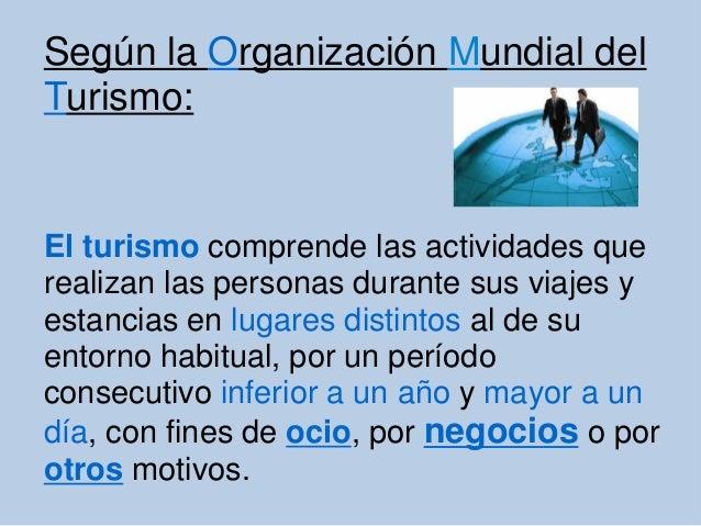 Turismo de negocios  Slide 3