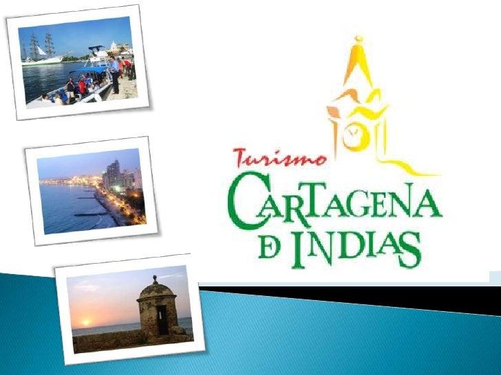   Cartagena de Indias se ha    convertido en un potencial    turístico, visitada cada vez    más        por       turist...