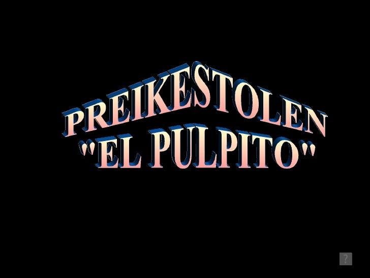 """PREIKESTOLEN """"EL PULPITO"""""""