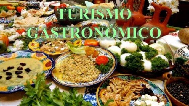 Resultado de imagen para turismo gastronomico