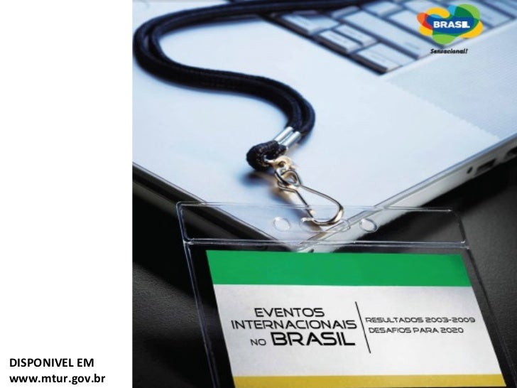 DISPONIVEL EM www.mtur.gov.br