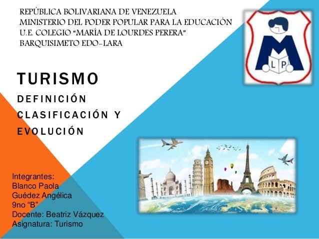 """REPÚBLICA BOLIVARIANA DE VENEZUELA MINISTERIO DEL PODER POPULAR PARA LA EDUCACIÓN U.E. COLEGIO """"MARÍA DE LOURDES PERERA"""" B..."""