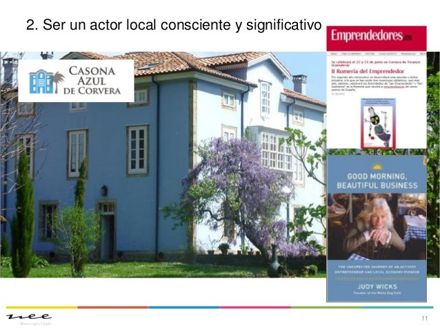 2. Ser un actor local consciente y significativo11
