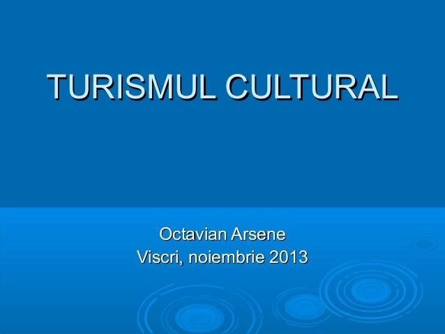 TURISMUL CULTURAL  Octavian Arsene Viscri, noiembrie 2013