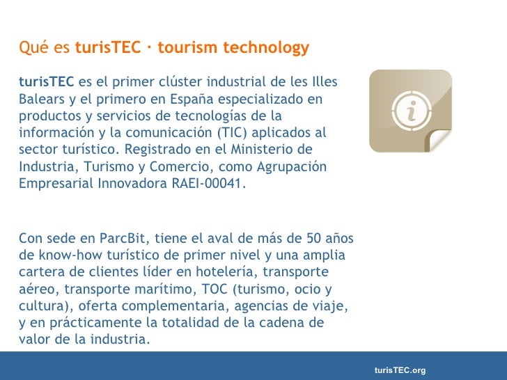 TurisTec : tecnología turística Slide 2