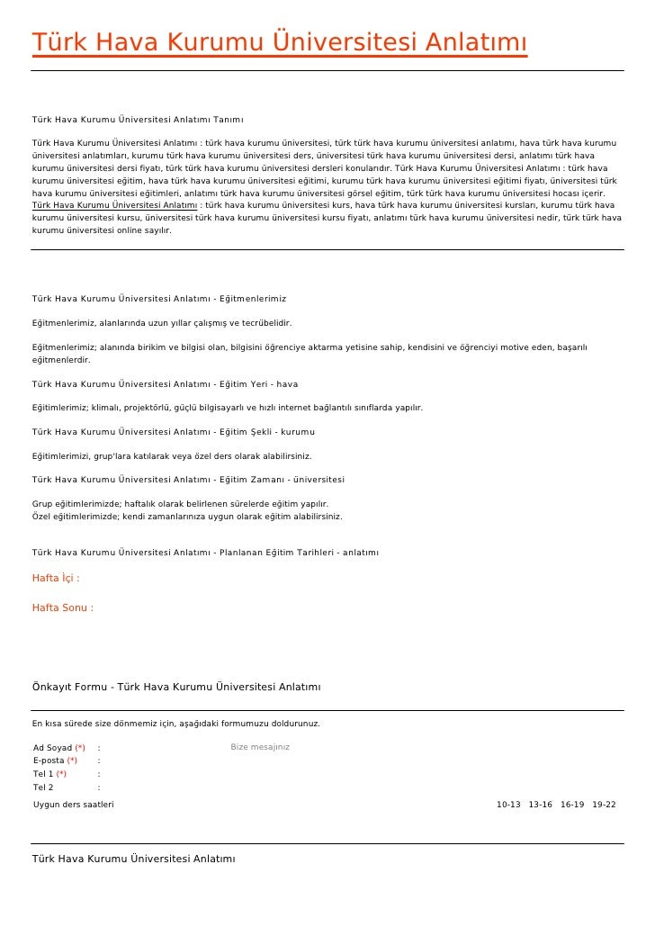 Türk Hava Kurumu Üniversitesi AnlatımıTürk Hava Kurumu Üniversitesi Anlatımı TanımıTürk Hava Kurumu Üniversitesi Anlatımı ...