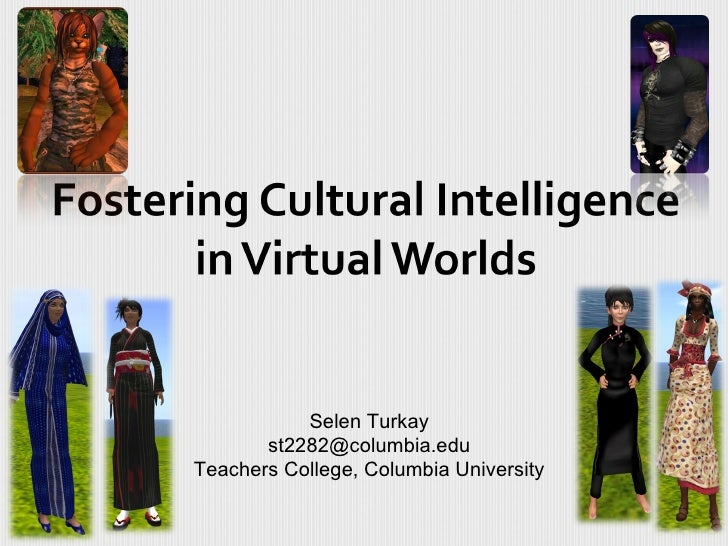 Selen Turkay       st2282@columbia.eduTeachers College, Columbia University