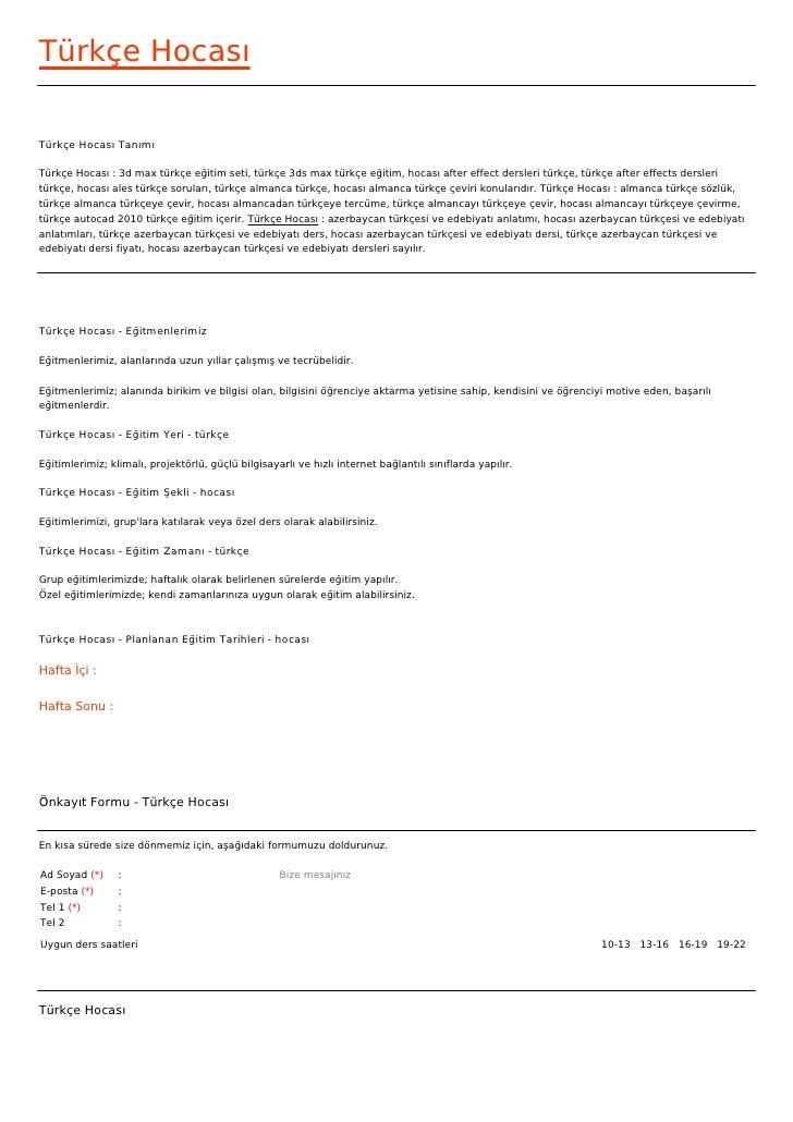 Türkçe HocasıTürkçe Hocası TanımıTürkçe Hocası : 3d max türkçe eğitim seti, türkçe 3ds max türkçe eğitim, hocası after eff...