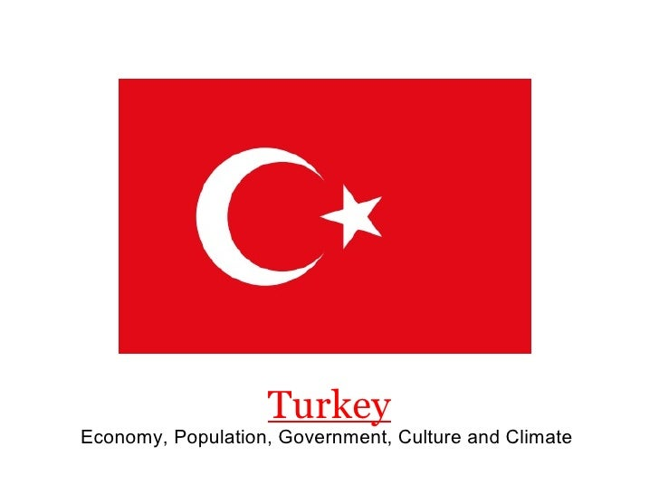 Turkey Economy, Population, Government, Culture and Climate