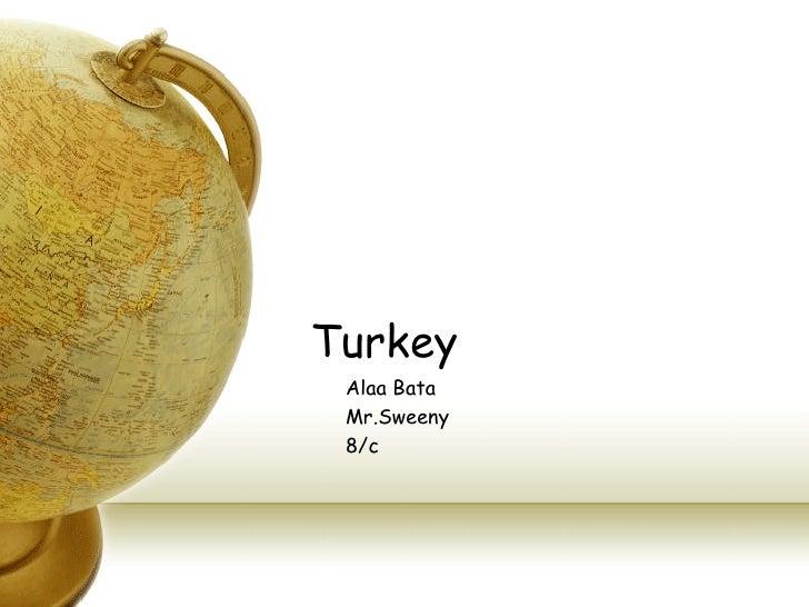 Turkey Alaa Bata Mr.Sweeny 8/c