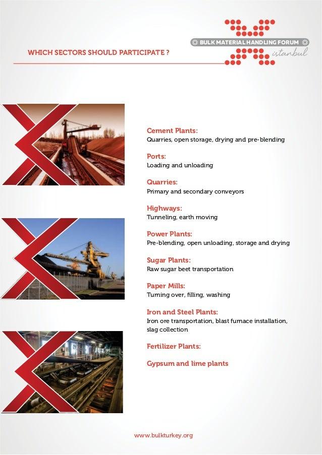 Bulk Material Turkey forum. Slide 2
