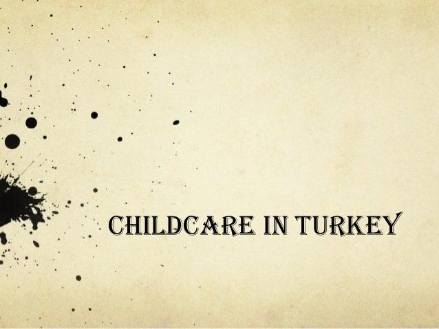 Childcare in Turkey