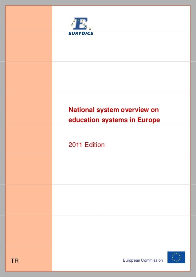 National s              system overview on     education systems in Europe             n y              p     2011 Editio ...