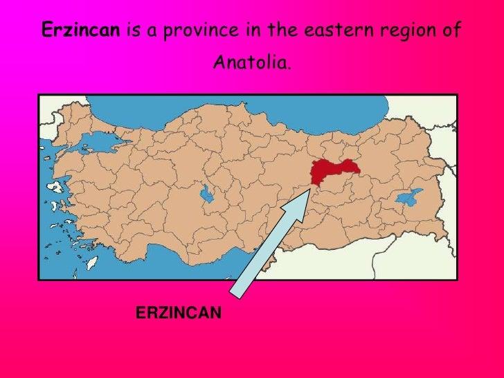 Turkey erzincan town