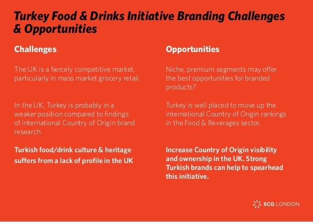 Branding Challenges & Opportunities, Turkey food & drink