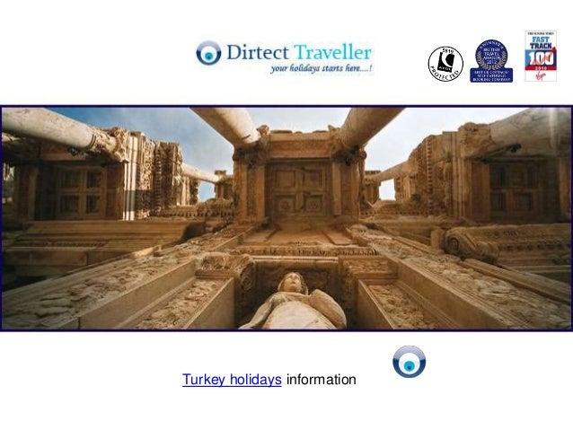 Turkey holidays information