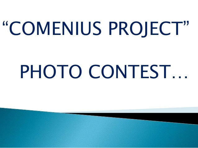 """COMENIUS PROJECT""PHOTO CONTEST…"