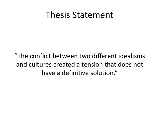 conflict thesis United nations peacekeeping operation and conflict resolution in africa by emeka victor onumajuru a thesis presented in partial completion of the requirements of.