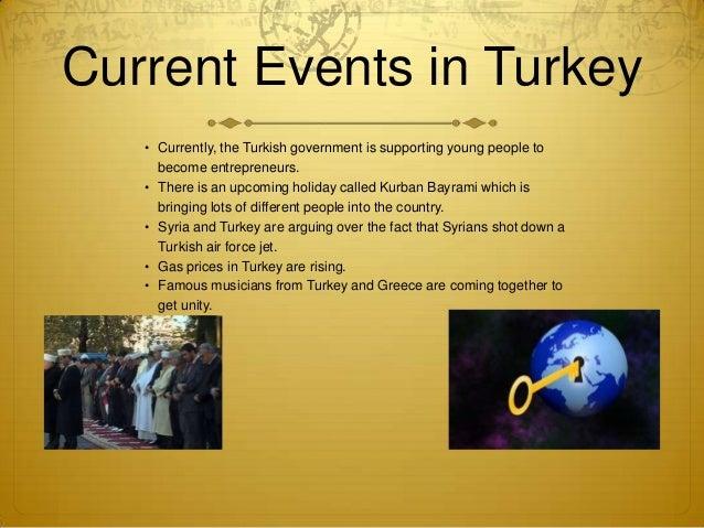 turkey presentation