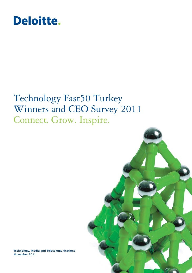 Technology Fast50 TurkeyWinners and CEO Survey 2011Connect. Grow. Inspire.Technology, Media and TelecommunicationsNovember...