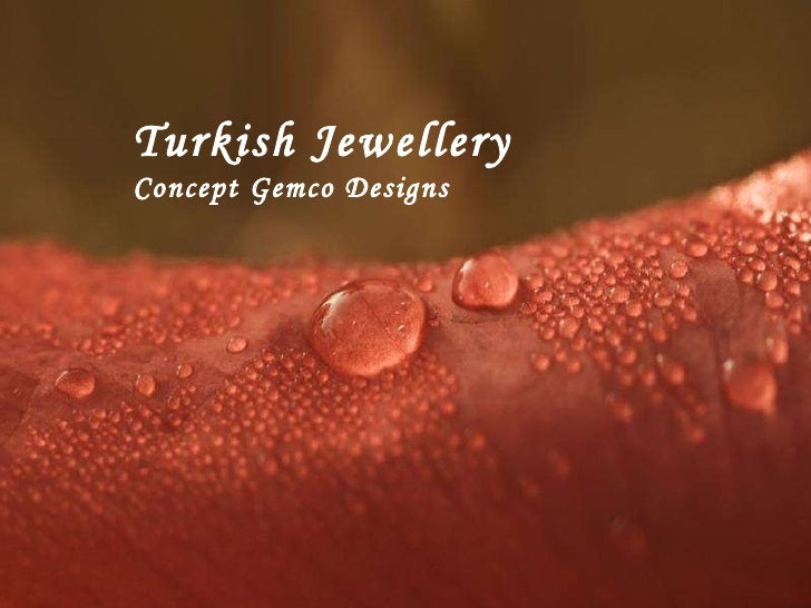 Turkish Jewellery Concept Gemco Designs