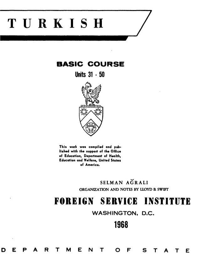 Learn Turkish - FSI Basic Course (Part 2)