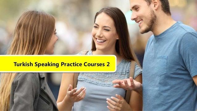 Turkish Speaking Practice Courses 2
