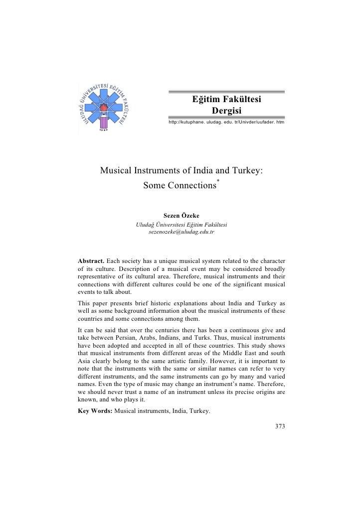 S. Özeke / Eğitim Fakültesi Dergisi XX (2), 2007, 373-386                                              Eğitim Fakültesi   ...