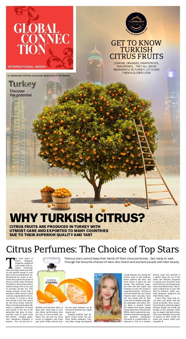 WHY TURKISH CITRUS?CITRUS FRUITS ARE PRODUCED IN TURKEY WITH UTMOST CARE AND EXPORTED TO MANY COUNTRIES DUE TO THEIR SUPER...