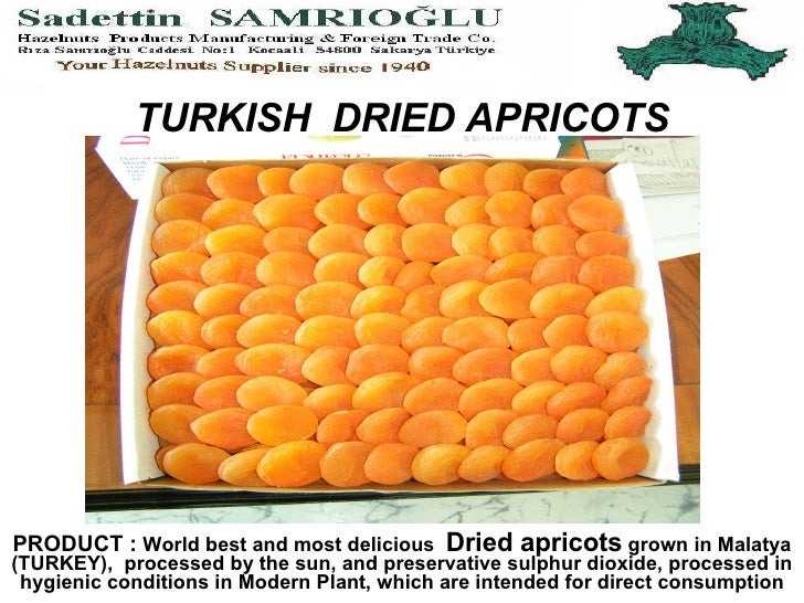 TURKISH  DRIED APRICOTS PRODUCT :  World best and most delicious  Dried apricots  grown in Malatya (TURKEY),  processed by...