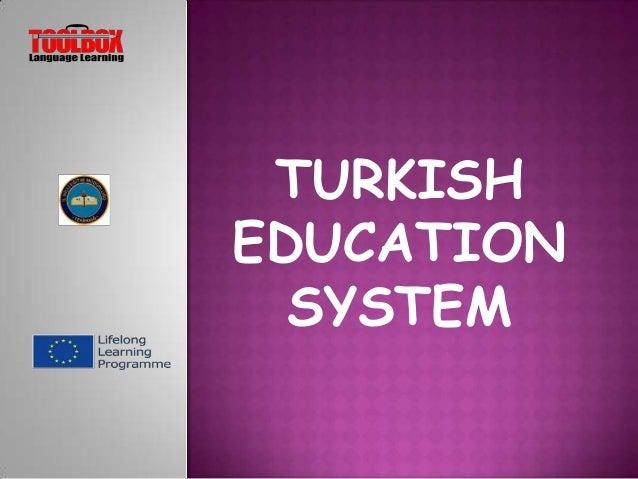 TURKISH EDUCATION SYSTEM