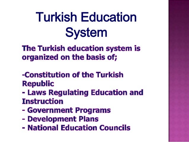 evaluating the education system in turkey Turkey vs united states education duration in primary education in the school system turkey education expenditure of.