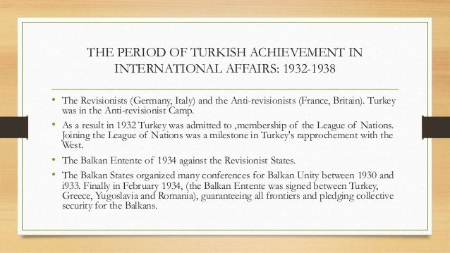 turkish foreign policy thesis 3 abstract this thesis analyzes the changes and continuity within turkish foreign policy since 2002, under the justice and development party (adalet ve kalkinma partisi - akp.