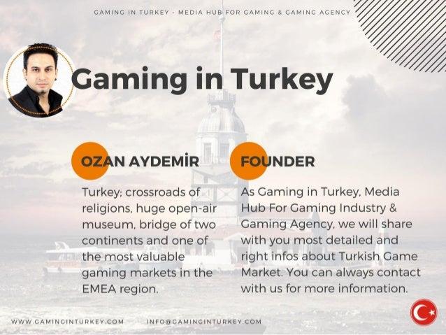 Turkish Game Market 2016 Report - Gaming in Turkey