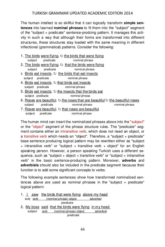 Turkish Grammar Updated Academic Edition Yuksel Goknel Revised July