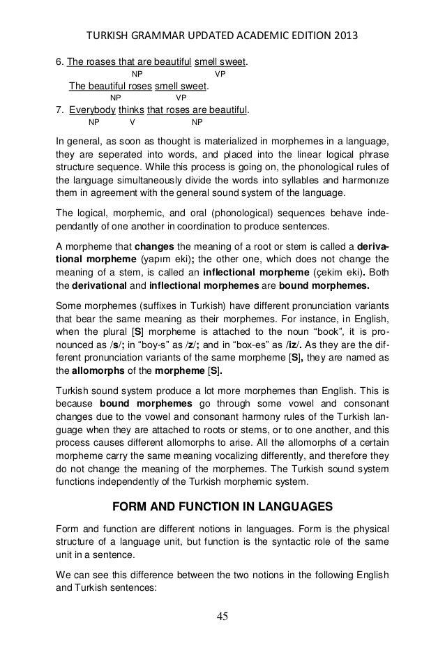 A detailed turkish grammar written in english expocarfo