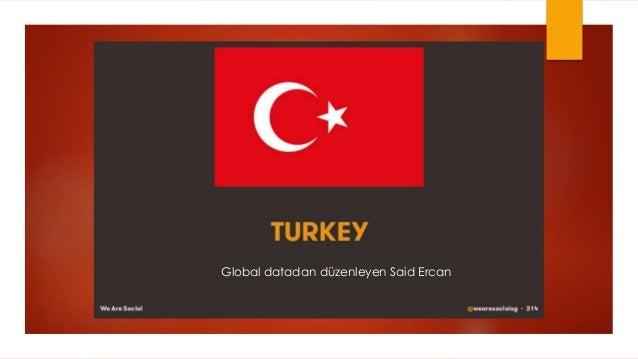 Global datadan düzenleyen Said Ercan