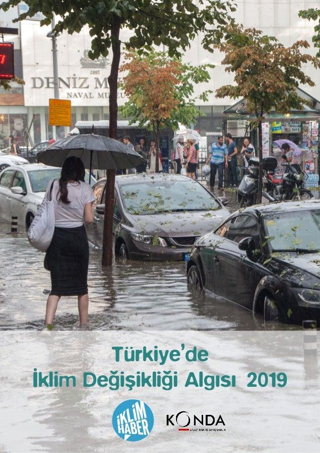 Türkiye'de İklim Değişikliği Algısı 2019