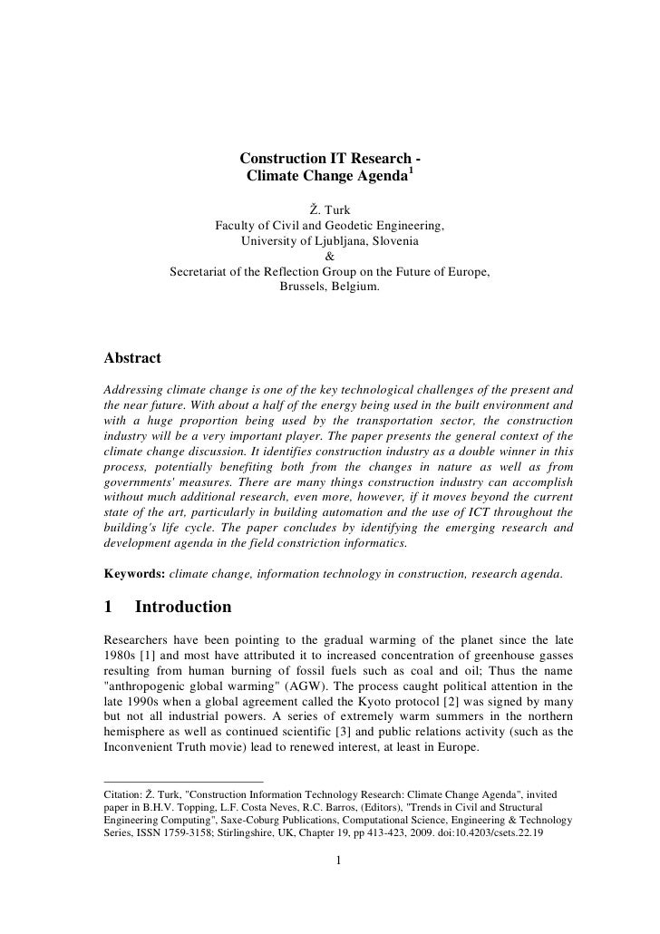 research paper about climate change pdf