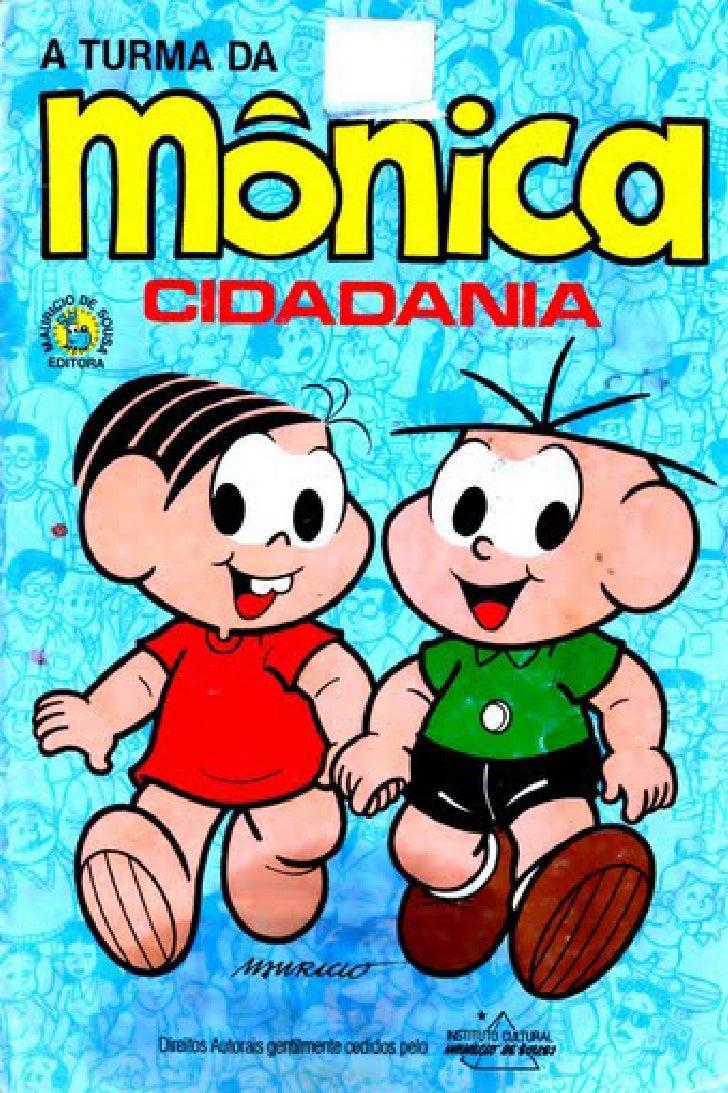 Turma Da Monica   Cidadania