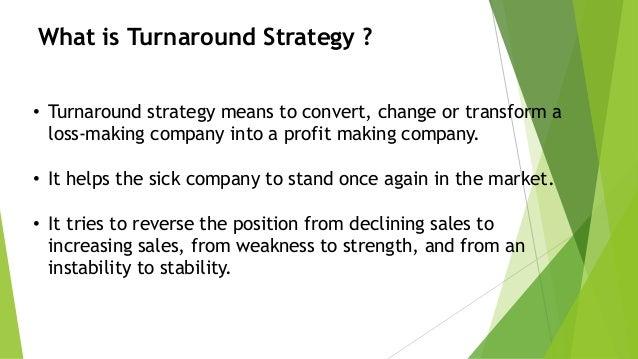 Transforming total sales into net profits