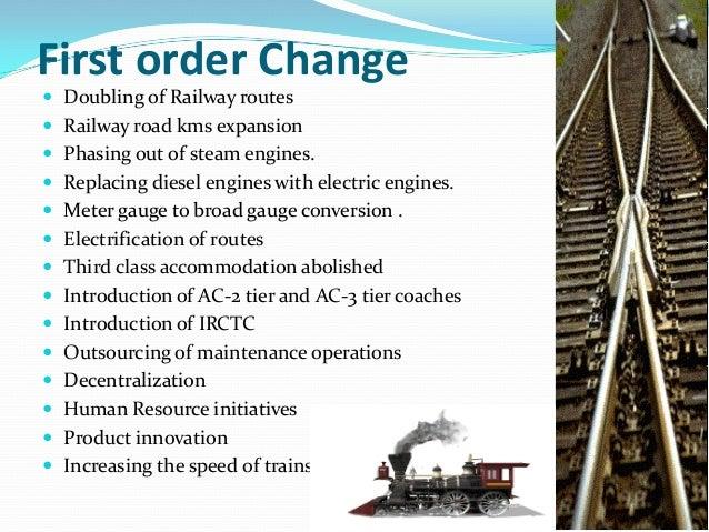 Turnaround strategies for the Indian Railways