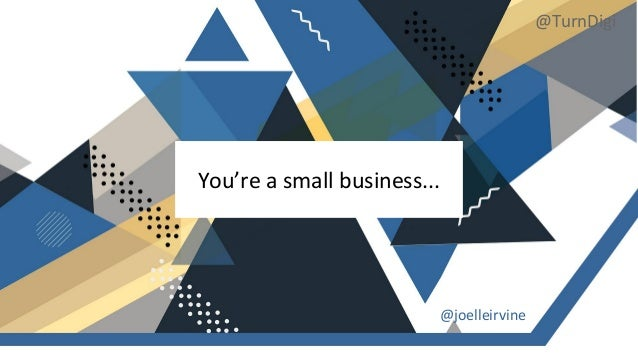 Boosting Product Discovery for Small Businesses | Turn Digi Slide 3