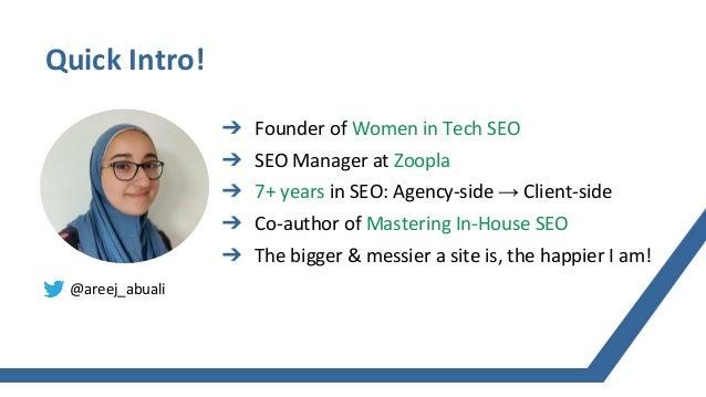 [TurnDigi 2020] Getting Tech SEO Implemented Slide 2
