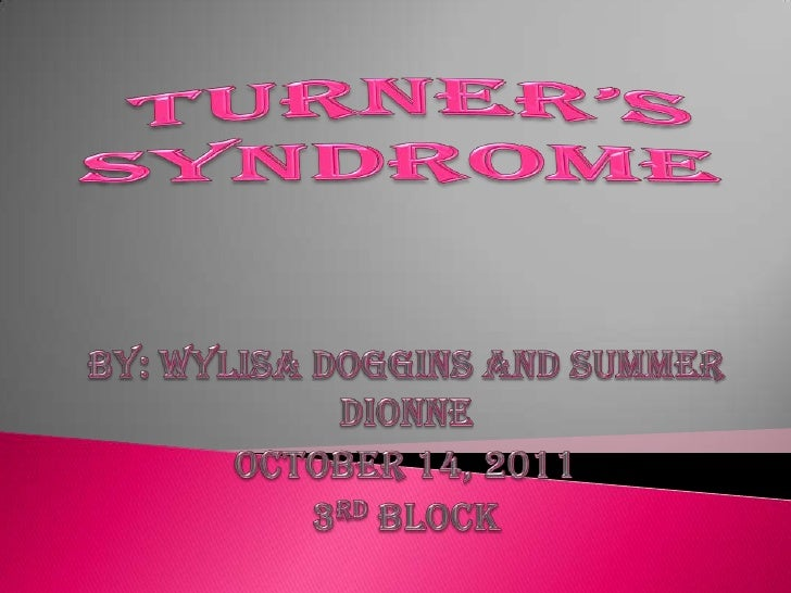 what is turner syndrome pdf
