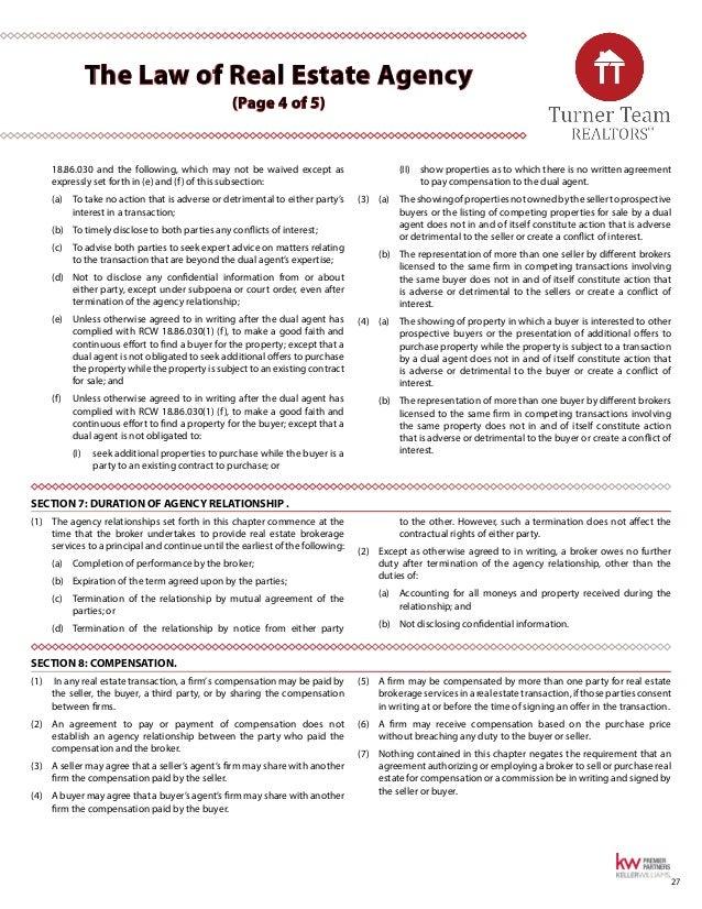 Turner Team, Inc. Washington Buyer's Real Estate Guide - 웹
