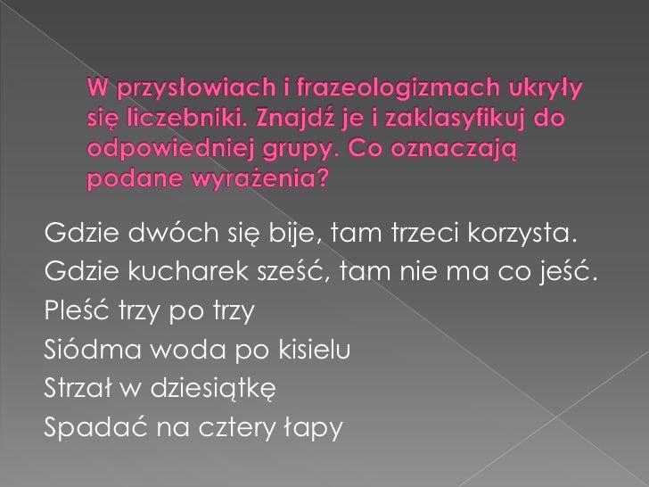 Turniej Gramatyczny Klasa V